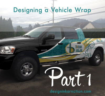 Designing a Vehicle Wrap Part 1
