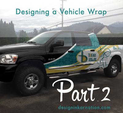 Designing a Vehicle Wrap Part 2