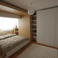 O solutie eleganta, contemporana, de reamenajare a unui apartament mic