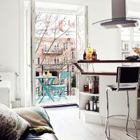 Apartament suedez de 26 mp / Great living in tiny 26 sqm Swedish apartment