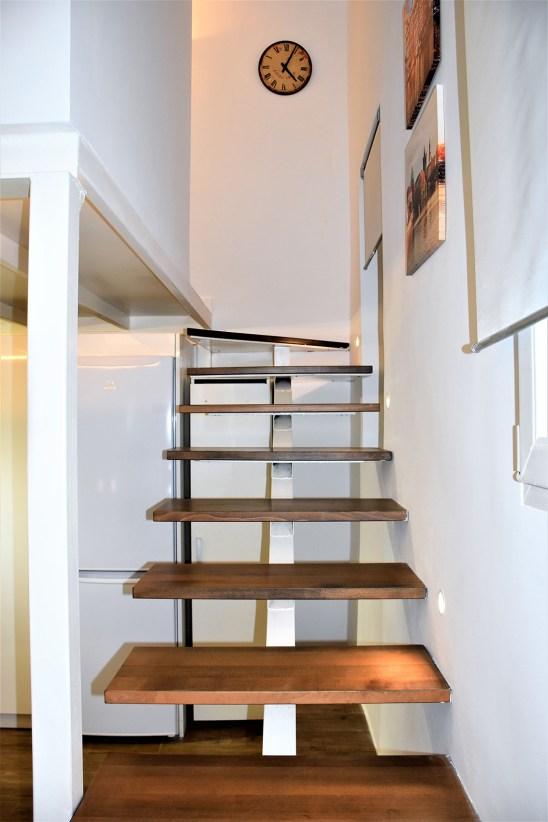 Escalera volada Loft
