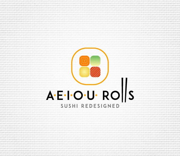 AEIOU ROLLS Logo