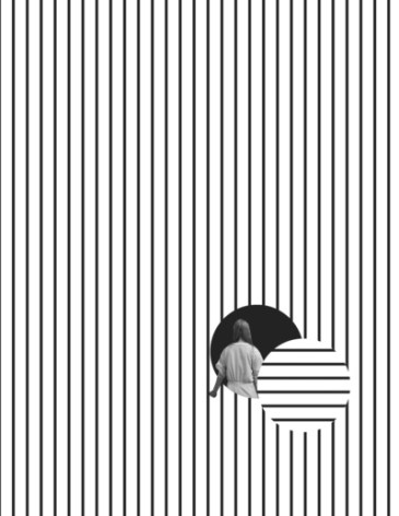 B&W Prints - Enter the Void by Tyler Spangler