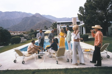 Slim Aarons Collection by Surface View // Desert House Party