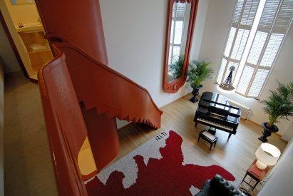 DesignJoyBlog // Lloyd hotel Amsterdam 5 star room piano room - Serge Brison
