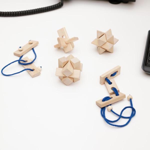 Træ puzzles og hjernevridere