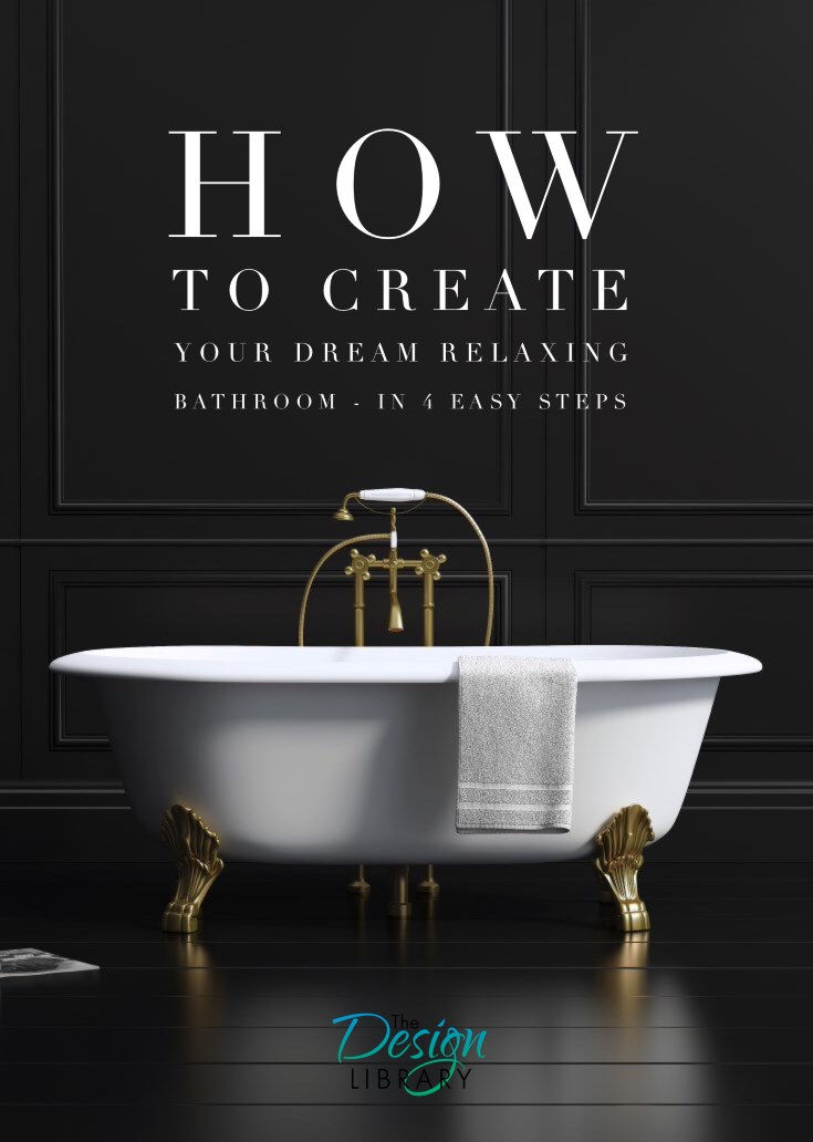 Bathroom Ideas - How To Create a Day Spa at Home - www.designlibrary.com.au