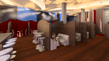 Phase 3: Restaurant render 2