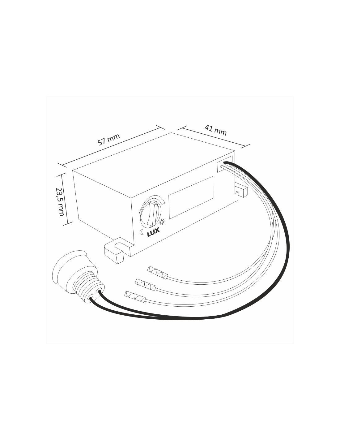 Automatic Twilight Switch Z1 220 230v Ac With Ip54