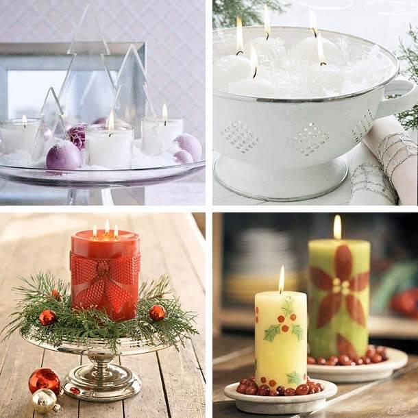 Christmas Candles Decorating Ideas-Decorating Christmas