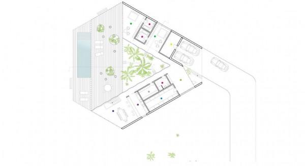 Triangular House Concept and Plans – Interior Design, Design News ...