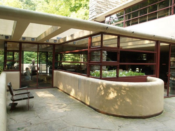 Fallingwater by Frank Lloyd Wright – Interior Design, Design News
