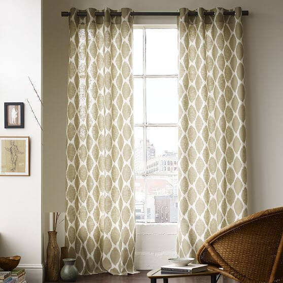 20 Chic Interior Designs With Yellow Curtains: Windows Curtains Style Decoation For Youre Interior Design