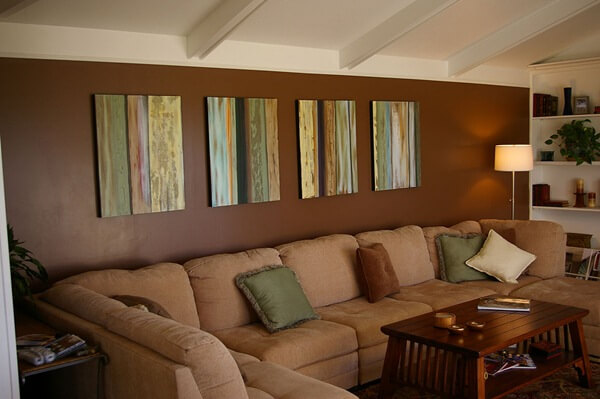 what color should you paint your living room with brown furniture design ideas dark hardwood floors the psychology of for interior white