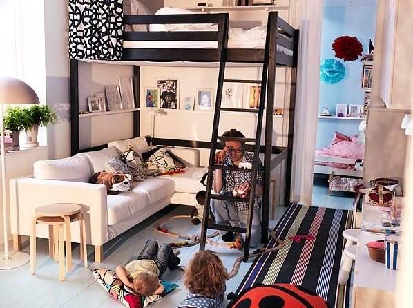 Rearrange Small Living Rooms With Ikea Ideas For 2012 Interior Design Design News And
