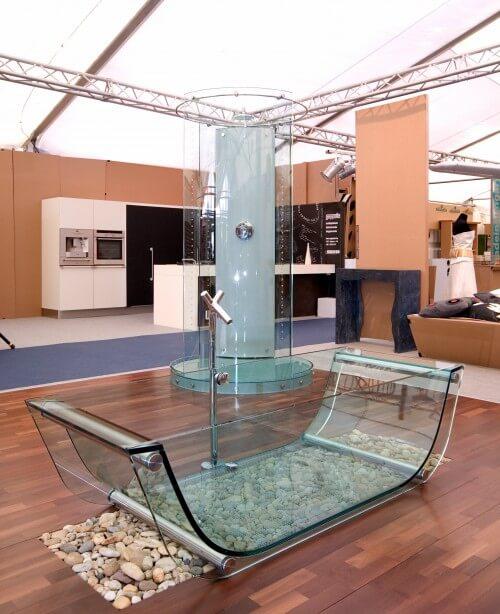 8 Modern Clear Glass Bathtubs Interior Design Design