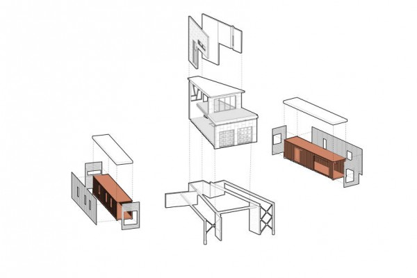 shipping-container-house-axonometric
