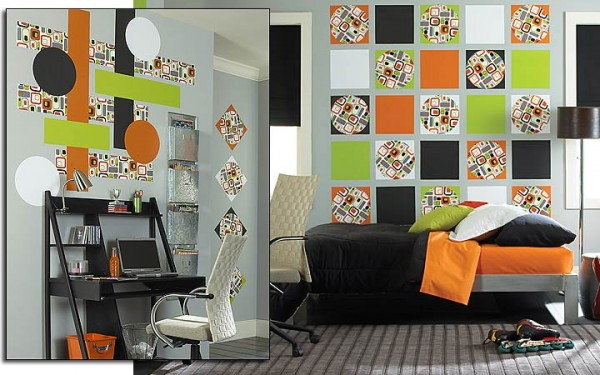 green-orange-decorating-ideas-bedroom