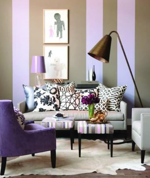 striped-wall-with-purple-and-grey
