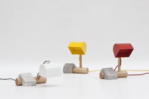 color desk lamps