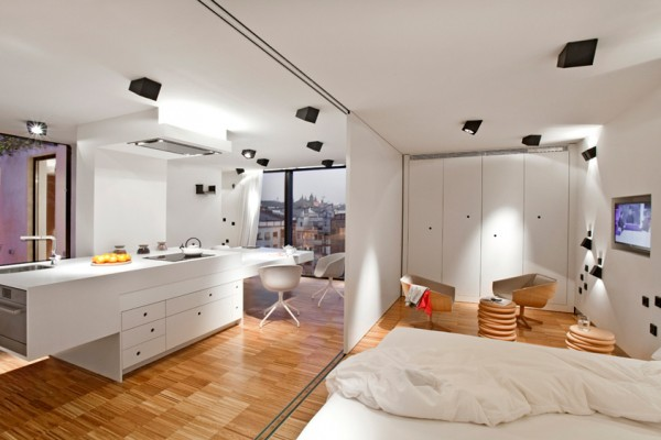 White Apartment in Spain