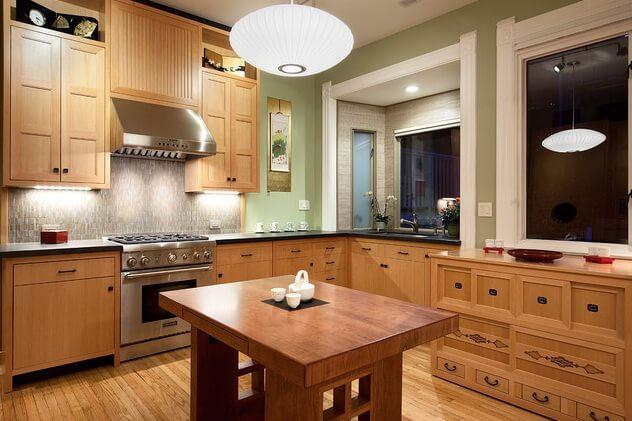 Asian-Style Kitchen Ideas – Interior Design, Design News ...