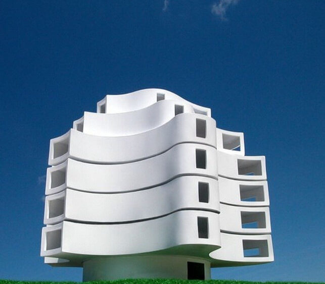 Creative-wind-shaped structure-02