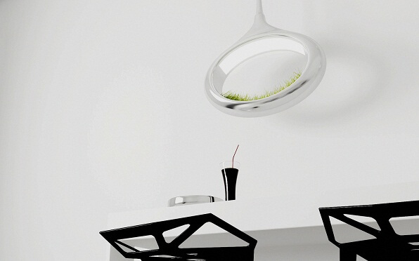 Hanging-lamp-with-grass-concept