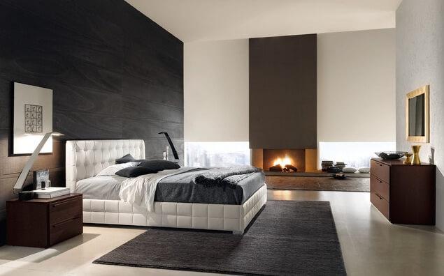 White-upholstered-headboard