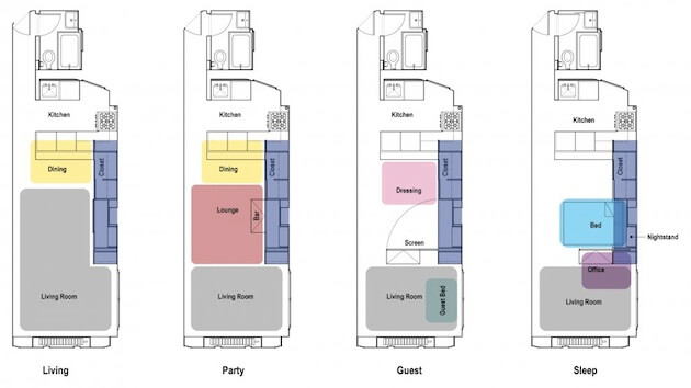Modular-Unfolding-Apartment-plans