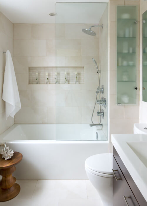 How to decorate a bathroom on a budget interior design design news and architecture trends - Pleasant bathroom designs small bathroom radical change simple remodeling ...