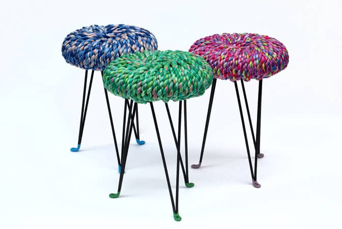 Colorful-Surrounded-Stools