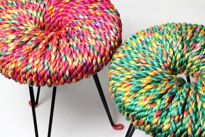 Vibrant-Surrounded-stools