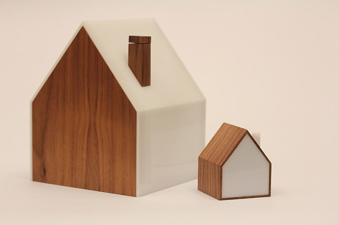 House-shaped-lamps
