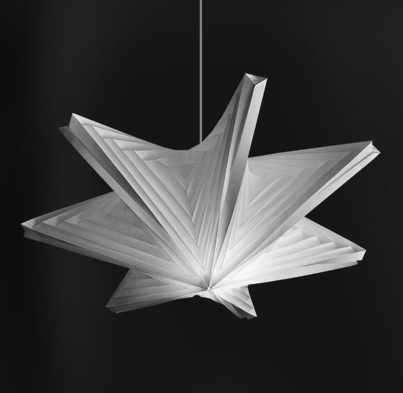 Seven-star-pendant-light