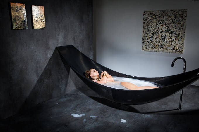 Black-bath-tub-design