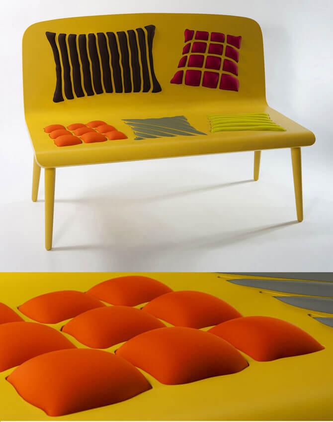 Yellow-bench-design