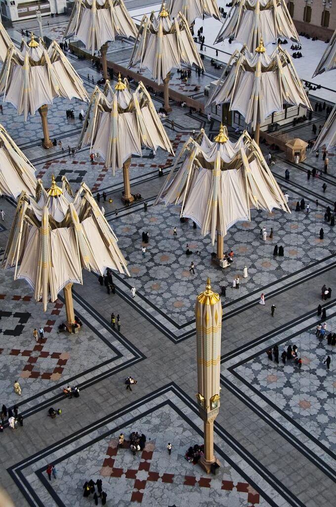 Closed-umbrellas
