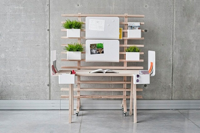 Modular-work-system