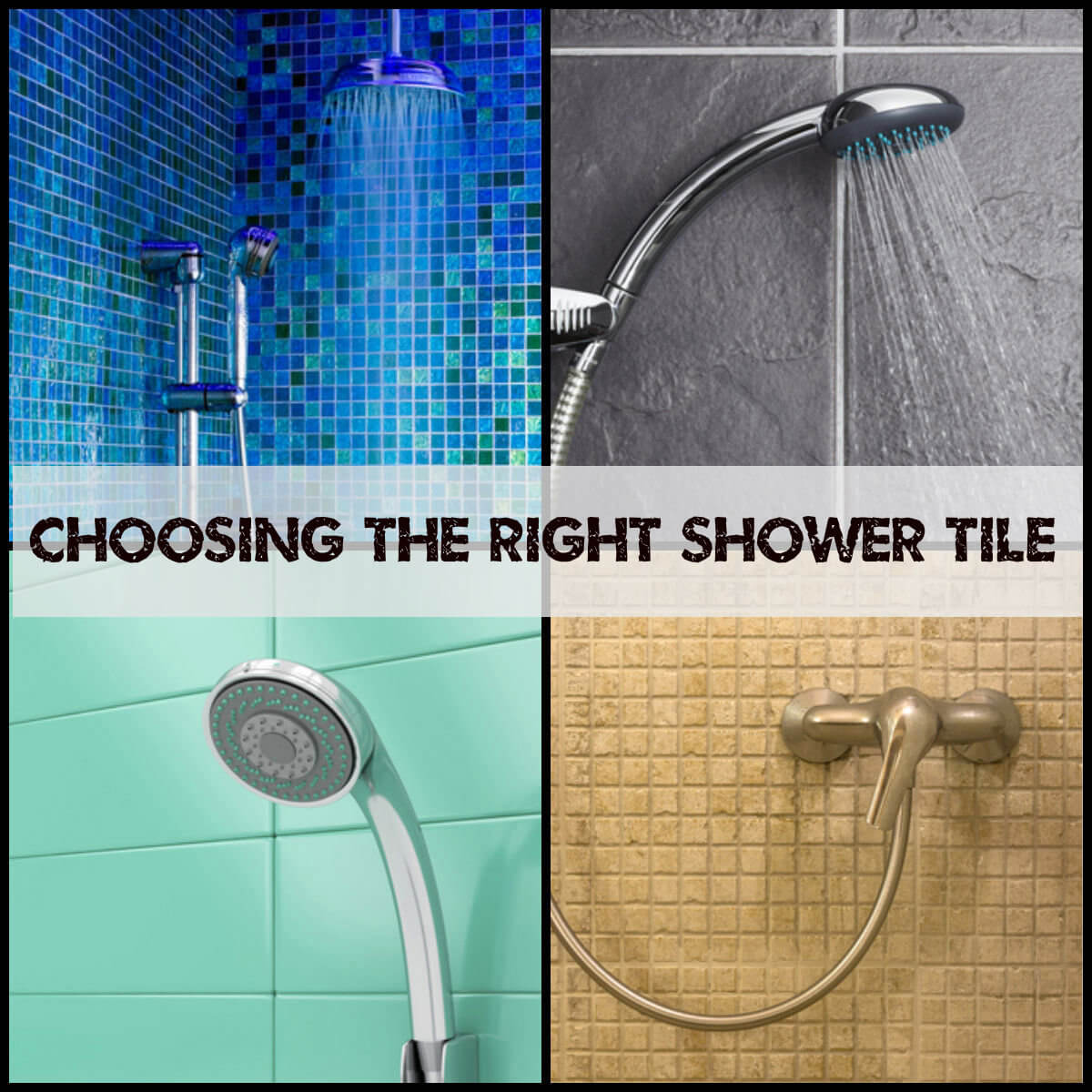 Choosing the Right shower Tile – Interior Design, Design News and ...