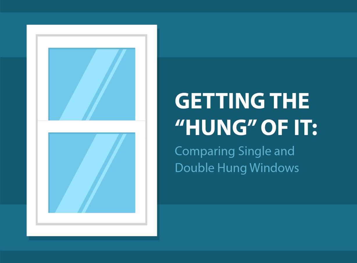 Getting the hung of it comparing single and double hung for Buy double hung windows online
