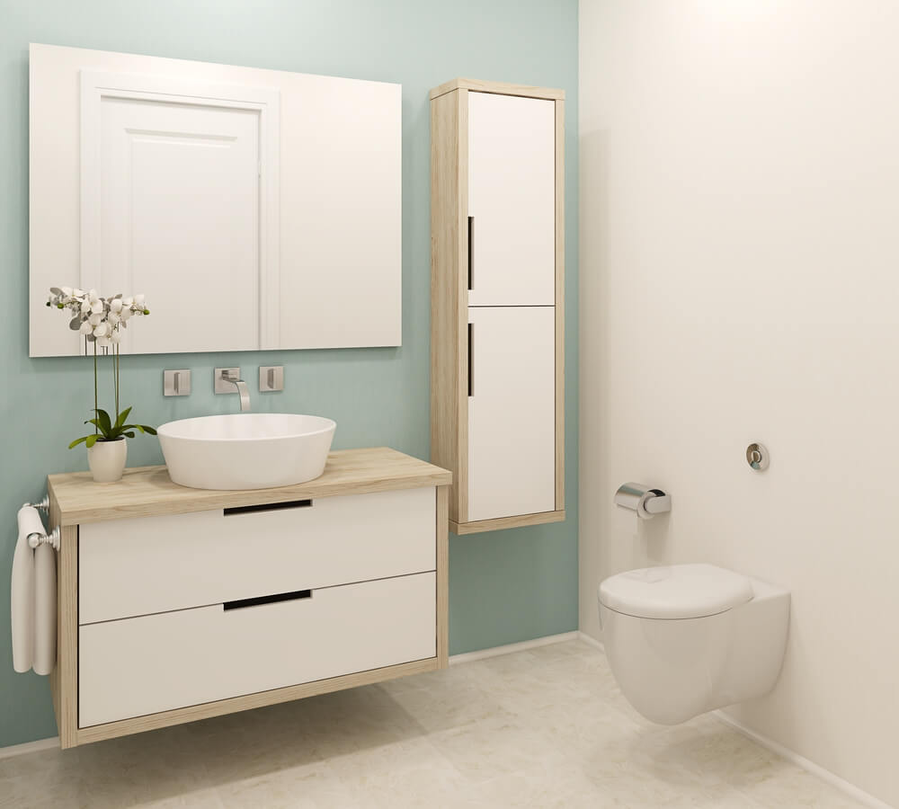 HOW TO MAKE SMALL BATHROOM LOOK BIGGER?