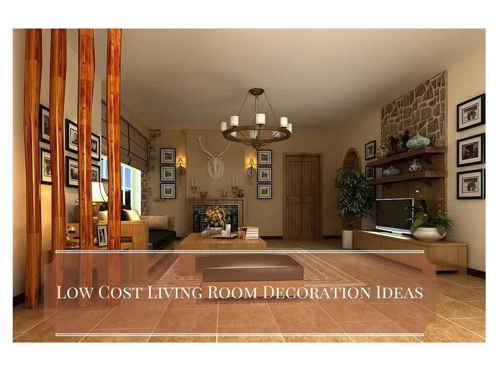 5 low cost living room decoration ideas interior design for Scrivanie design low cost