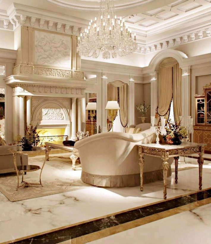 The Most Luxurious Living Rooms  Design Limited Edition
