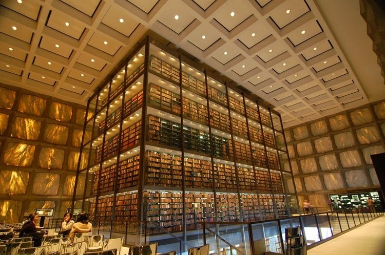beinecke- yale library Discover Beinecke Rare Book and Manuscript Library beinecke library 26