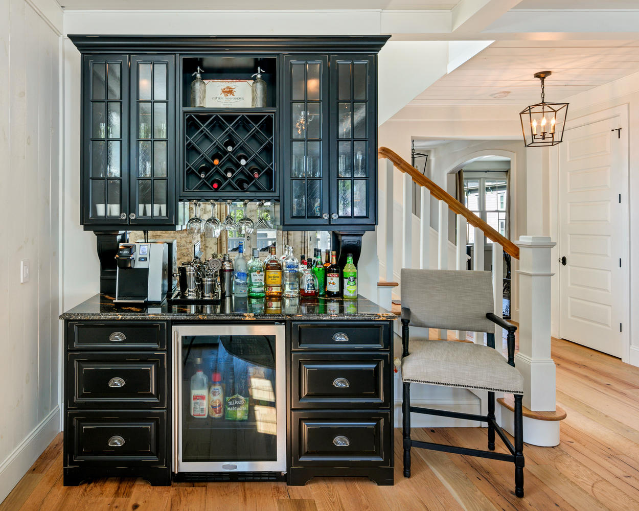 Black And White Kitchen Manasquan New Jersey By Design