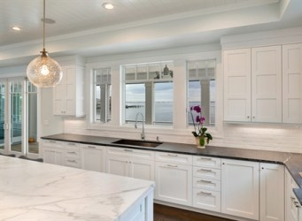 kitchen transitional cabinets kitchens cabinetry line open built