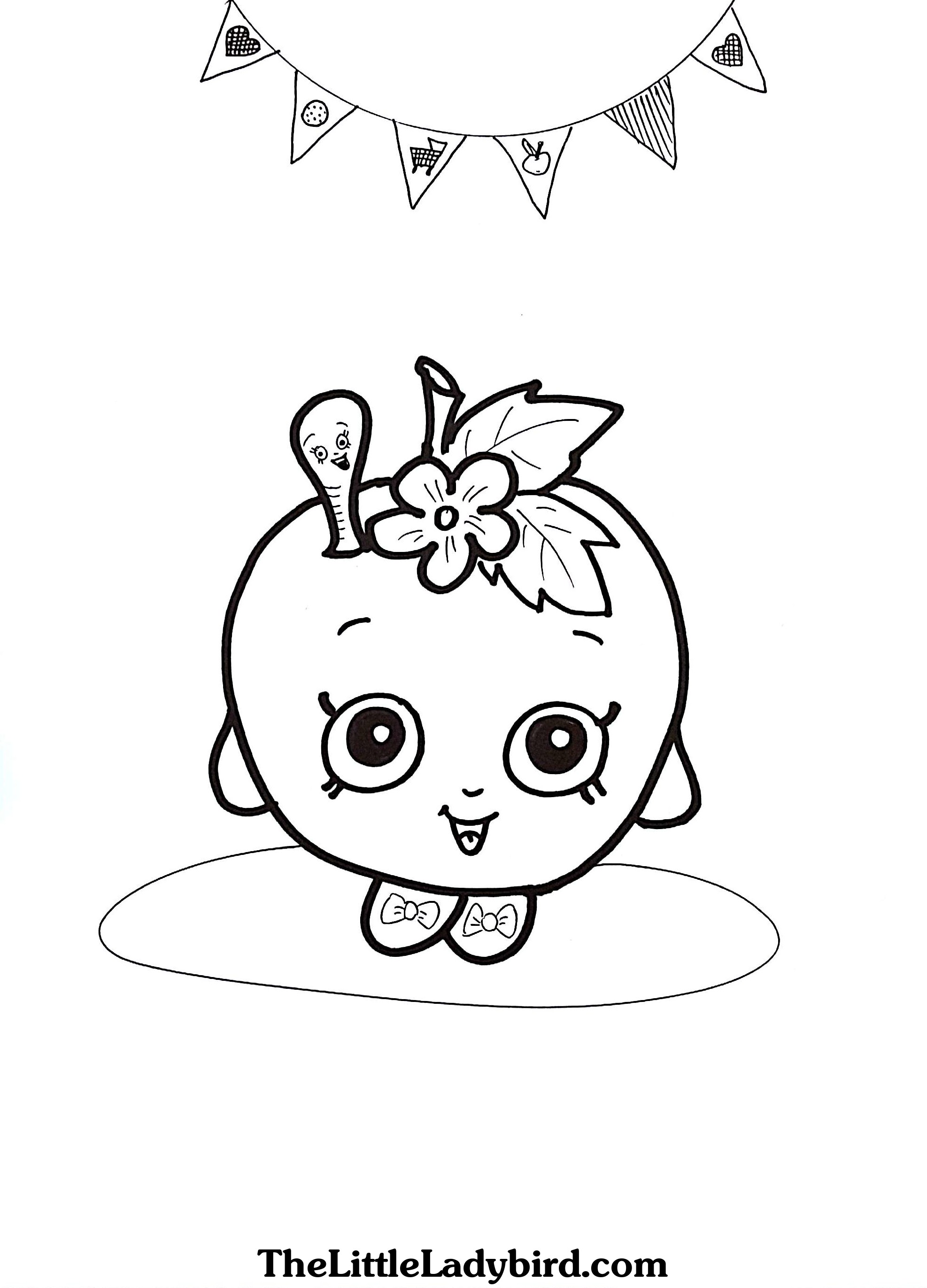 Apple Blossom coloring, Download Apple Blossom coloring