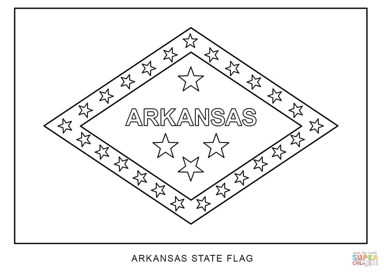 Arkansas coloring, Download Arkansas coloring for free 2019