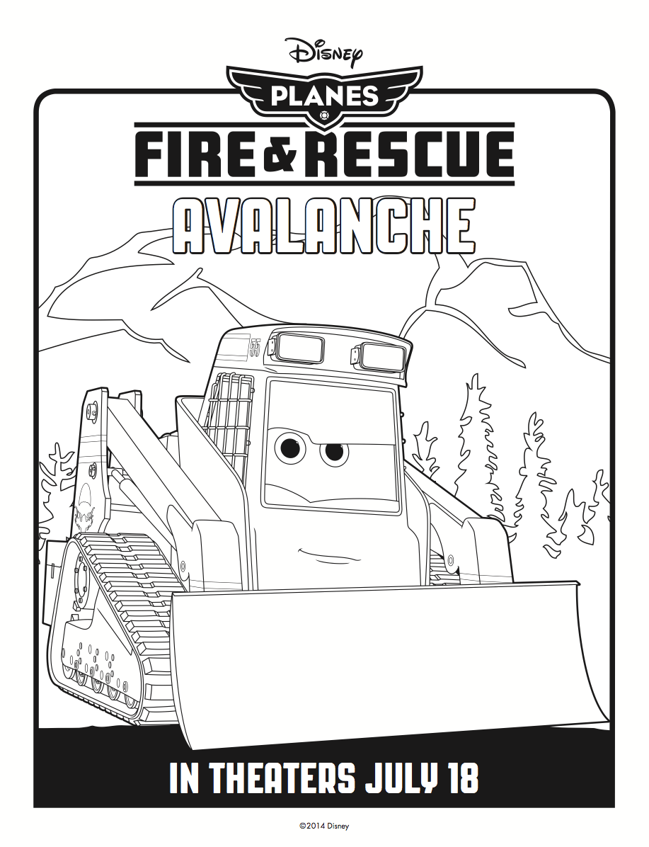 Avalanche coloring, Download Avalanche coloring for free 2019